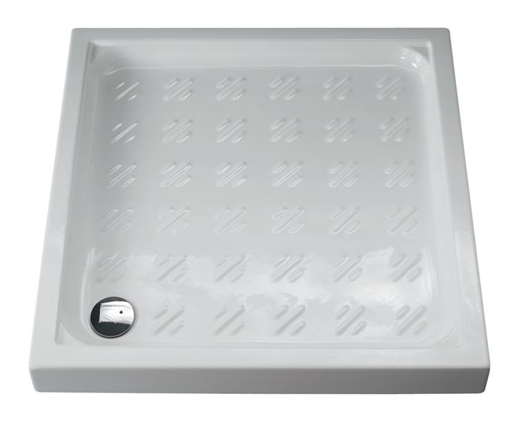 Piatto doccia 90x90 airone 1008 idraulica sanitari - Posare un piatto doccia ...