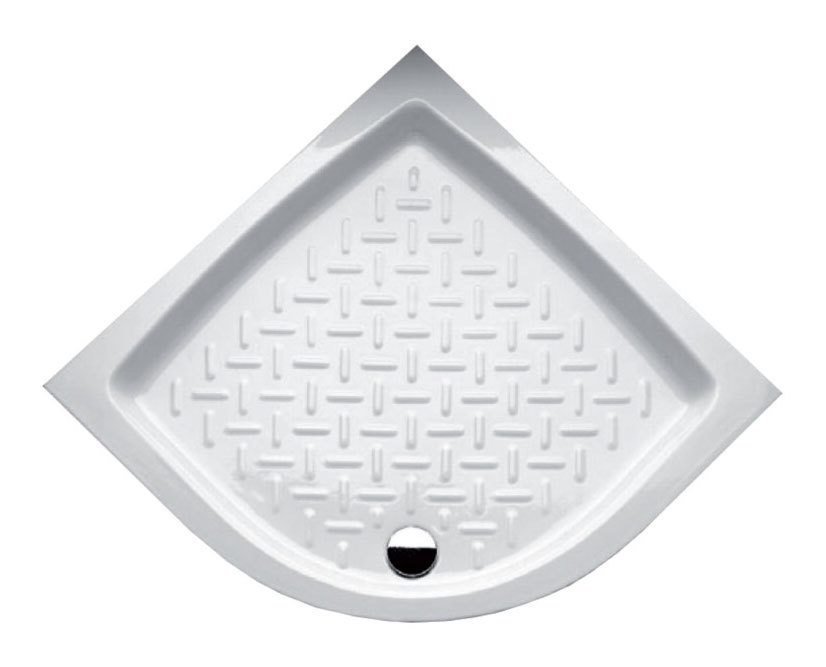Piatto doccia angolare 909011 angolo idraulica - Posare un piatto doccia ...