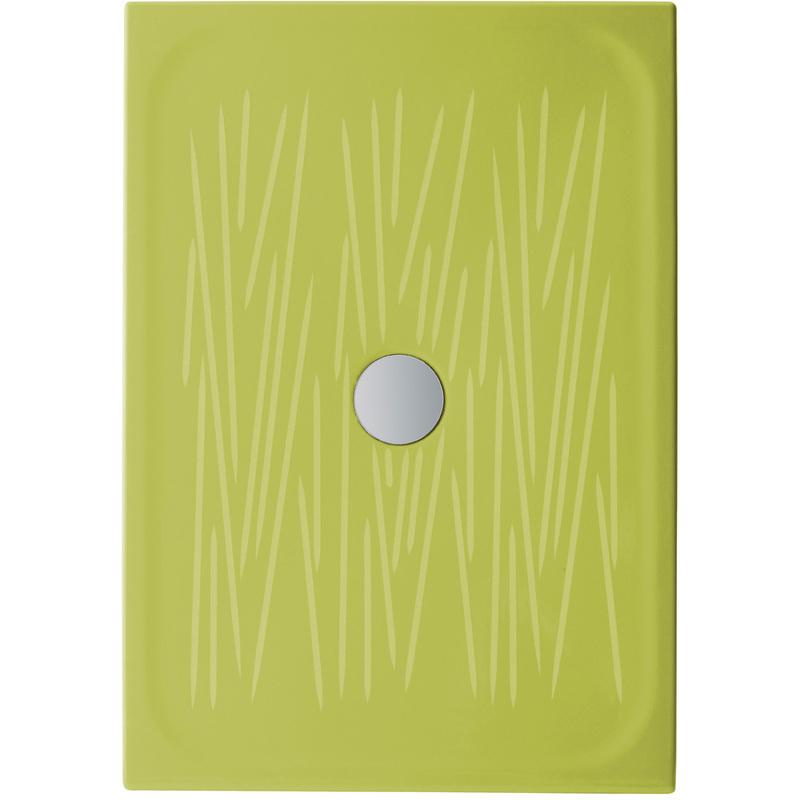Piatto doccia filo 100x70 verde 806133 idraulica - Posare un piatto doccia ...