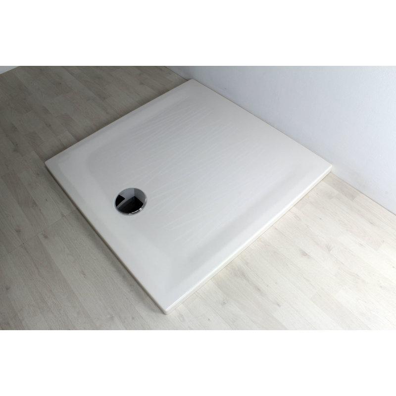Piatto doccia filo 90x90 pergamon 8060 30 idraulica - Posare un piatto doccia ...