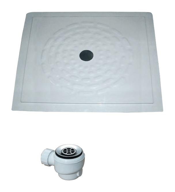 Piatto doccia in vetroresina hh 403 pdvr idraulica - Posare un piatto doccia ...