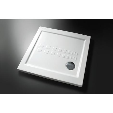 Piatto doccia slim 80x80 ds80 idraulica sanitari - Posare un piatto doccia ...