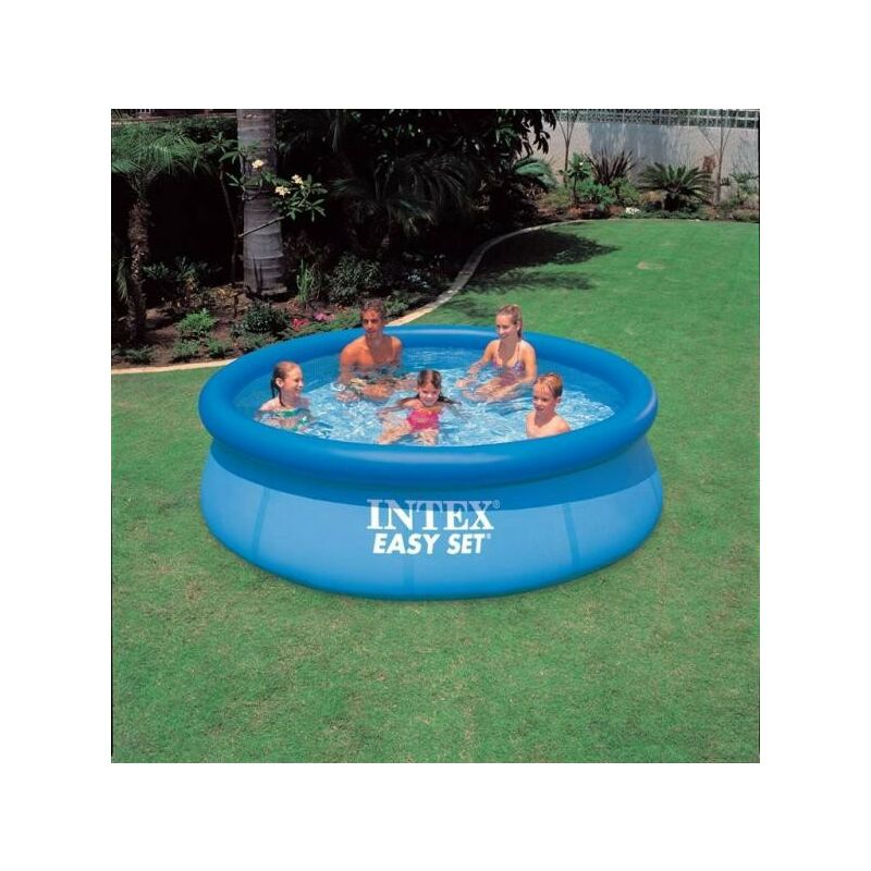 Piscina 305x76 intex easy set 56920 giardino piscina for Piscina intex easy set