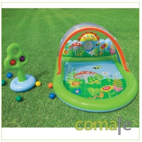 Piscina hinchable p ni os con bolas 57421 jardines y for Piscina hinchable ninos