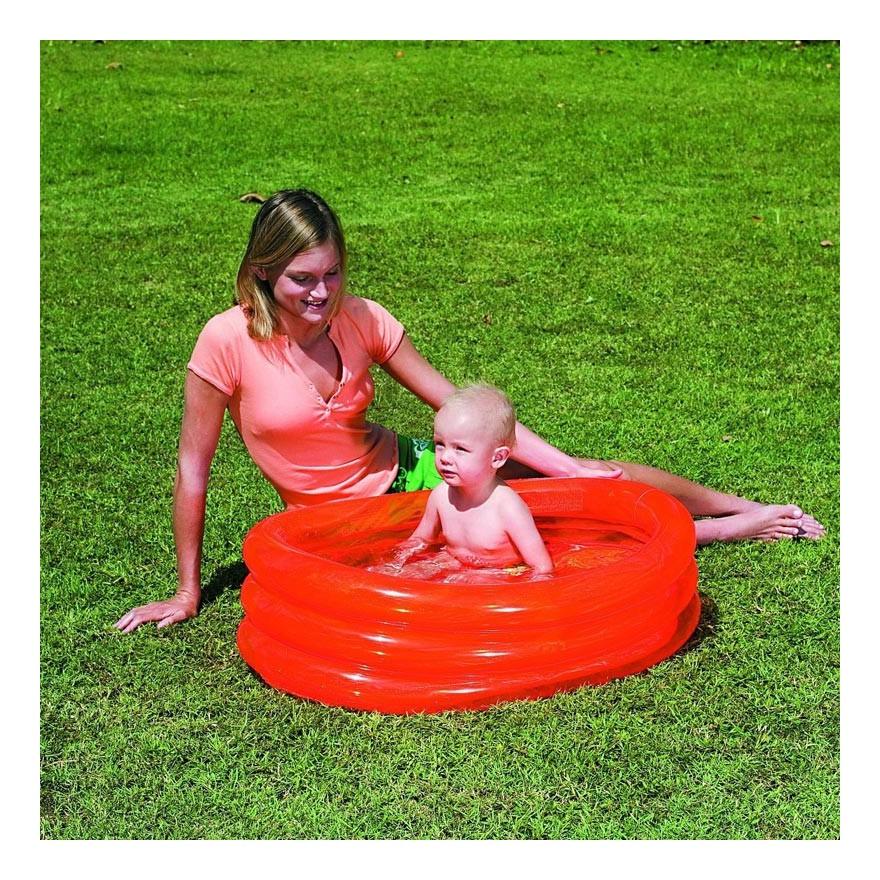 Piscina Ovale Gonfiabile Per Bambini Da Mare O Giardino 3