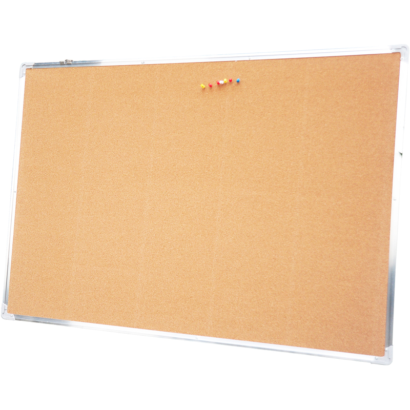 Pizarra corcho tablon anuncios 110x80cm pared pasillo - Panel de corcho para pared ...