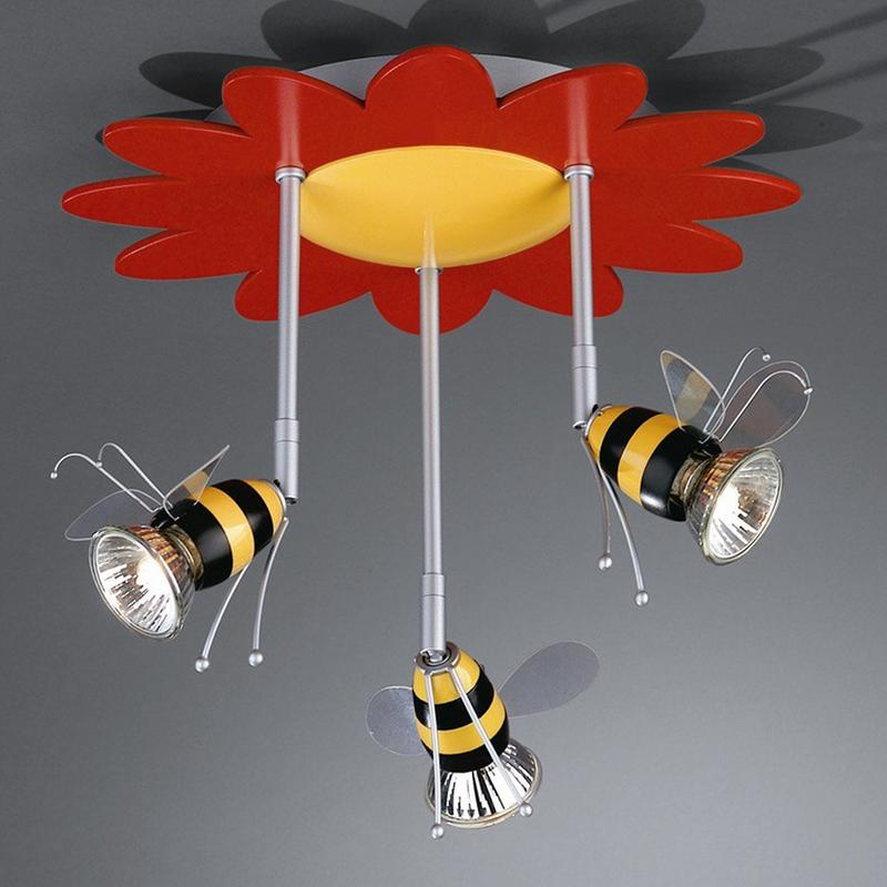 Plafoniera timeo api con 3 faretti alogeni massive 057019 for Faretti alogeni