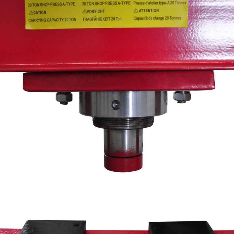 Pressa idraulica manuale presse idrauliche 20 tonnellate for Pressa fai da te
