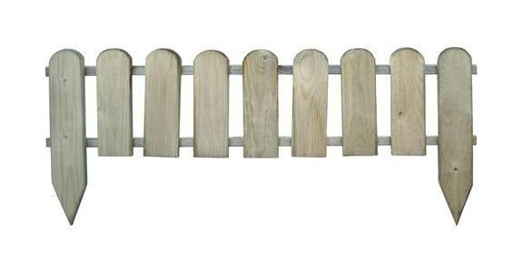 Recinzione legno impregnato in autoclave mod inglese - Recinzione piscina legno ...