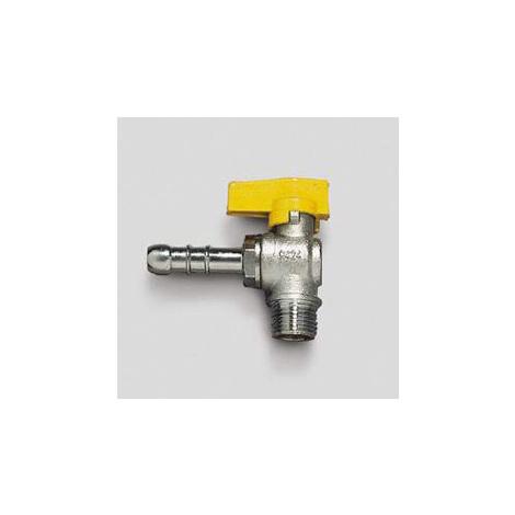 Rubinetti gas con chiusura a sfera rubinetto a squadra per gas metano attacco m 1 2 diametro - Attacco gas cucina ...