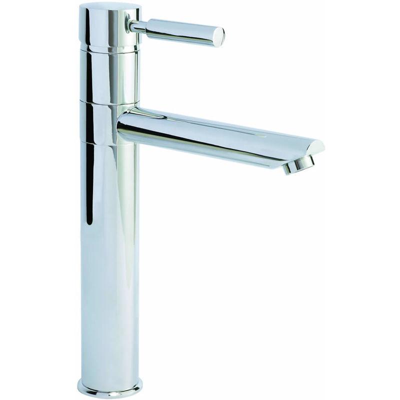Rubinetto alto per lavabo monocomando minimalista fj319 for Lavabo minimalista