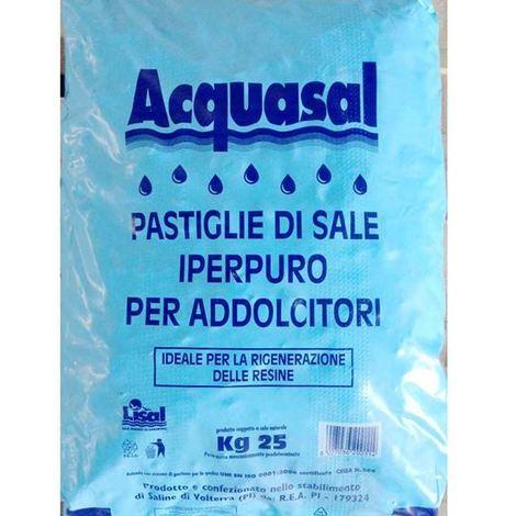 SALE IN PASTIGLIE X ADDOLCITORE 25 KG - 90144 - Giardino, piscina