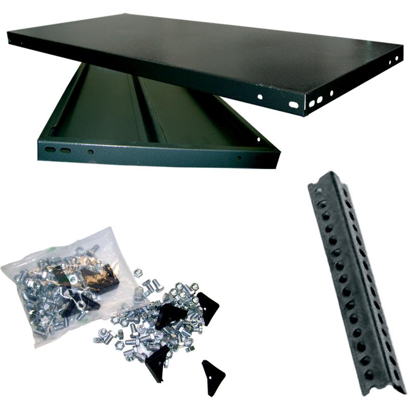 Scaffale in metallo 5 ripiani con rinforzo 30x50x250 robusto garage libreria - 3525 - Ferramenta