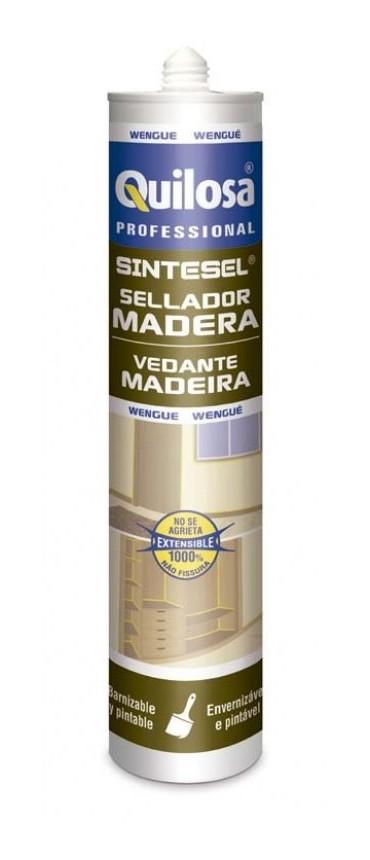 Sellador sintetico wengue cartu 300ml sintesel madera for Revestimiento sintetico para banos