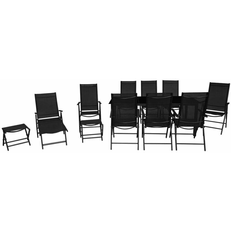 Set 12 muebles de jard n hechos de aluminio jardines y - Muebles en aluminio ...