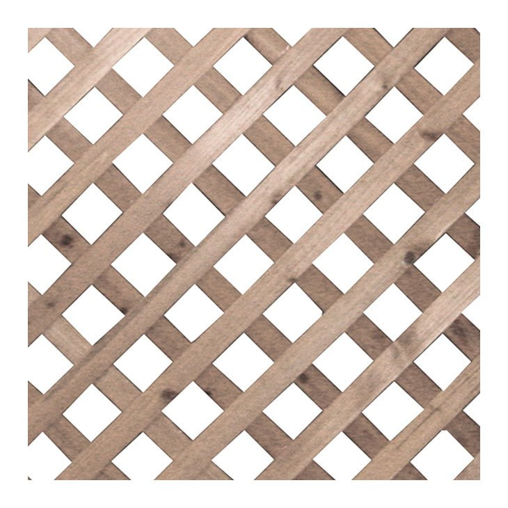 Set 4 pannelli separe 39 per giardino in legno tropicale - Separe in legno per giardino ...
