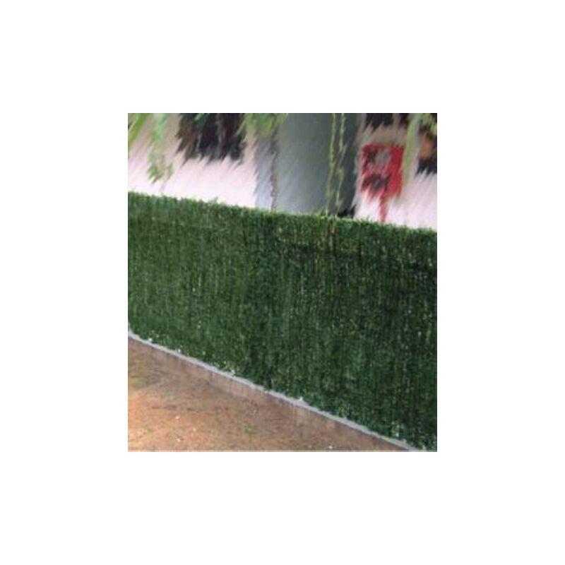 Seto decorativo 43 varillas verde 1 5x3m 126153 - Cortavientos de jardin ...