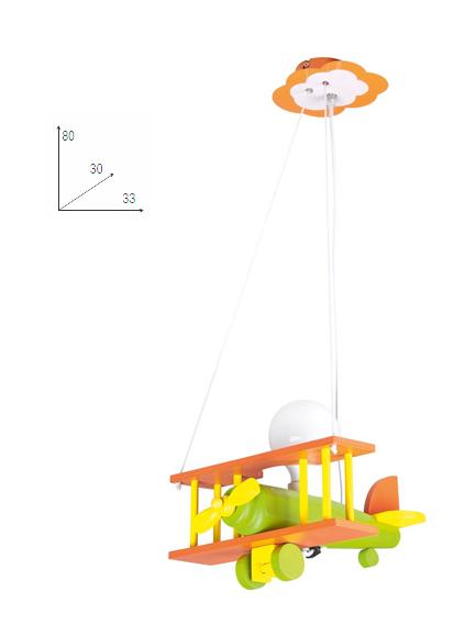 Sospensione lampadario moderno da cameretta 33x80 - P14385 ...