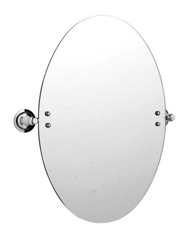 Specchio bagno tradizionale ovale 533mm x 444mm l309hw bagno - Specchio ovale per bagno ...