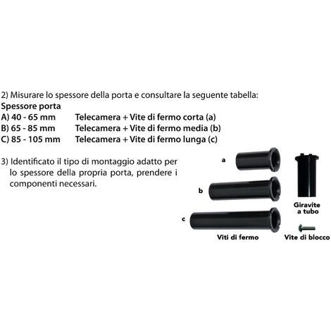 Spioncino digitale elettronico con monitor lcd sottocchio for Spioncino digitale bravo