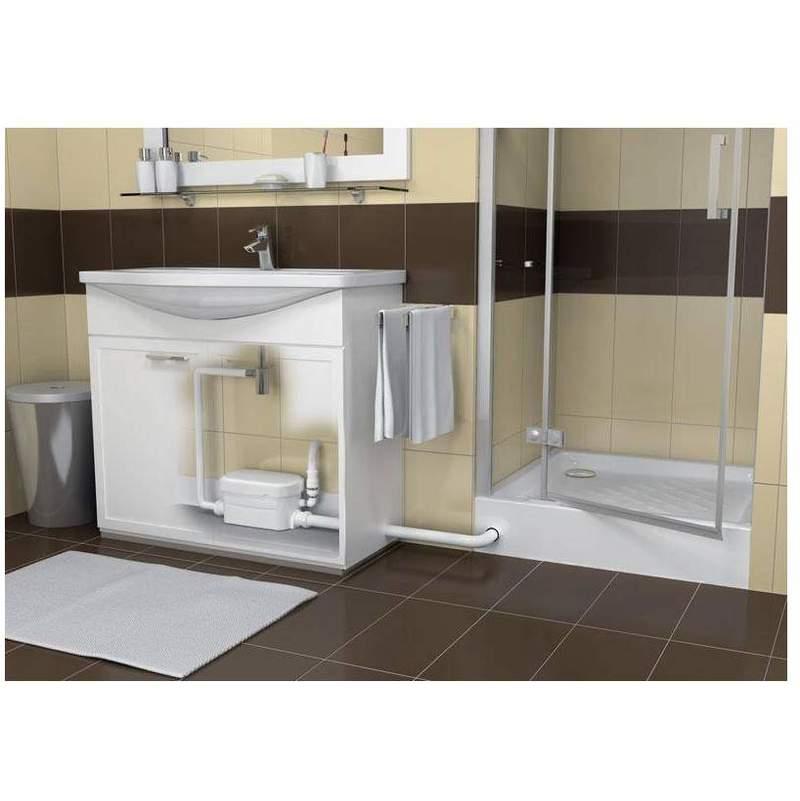 Stunning finest ordinary pompe de relevage salle de bain - Cabine de douche avec pompe de relevage ...
