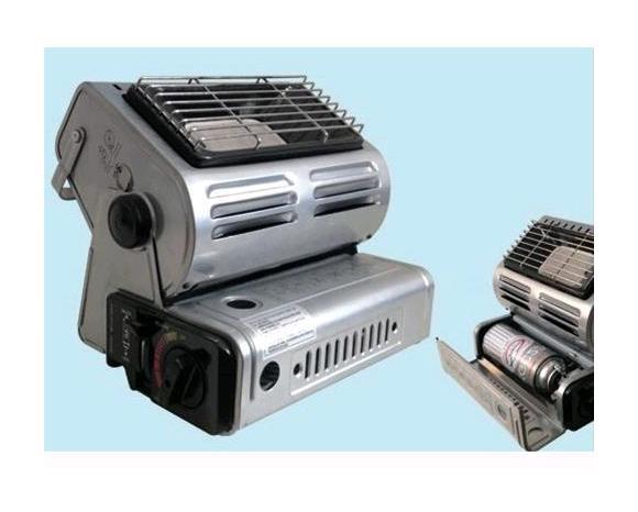 Stufa a gas infrarossi portatile 1 3 kw accensione piezo - Stufetta a gas portatile ...