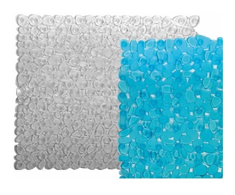 Tappeto antiscivolo pvc per doccia con ventose 54x54 cm - Ventose per piastrelle ...