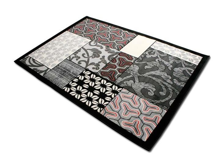 Tappeto disegno moderno da interno per camera salotto misura 120x 170 ...