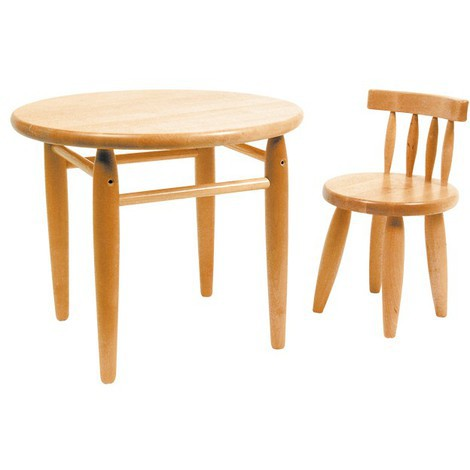 Tavolino per bambini in legno massiccio leg5029 giardino piscina - Tavolino per bambini ikea ...