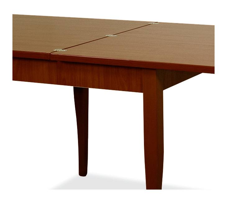 Tavolo da pranzo allungabile interamente in legno nobilitato 90x90/180 - P21503 - Giardino, piscina
