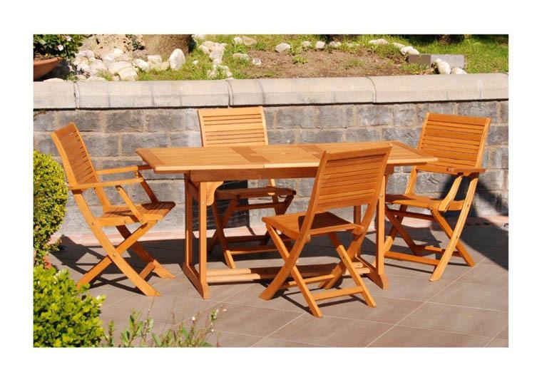Tavolo da pranzo allungabile ovale in legno di eucalypto - Tavolo da pranzo ovale ...