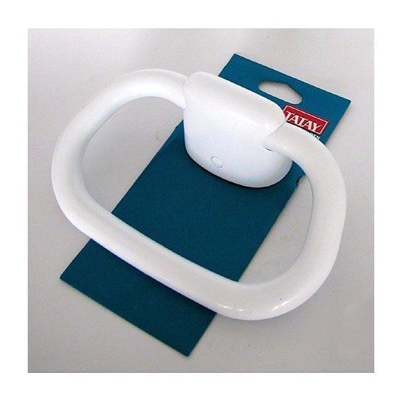 Toallero Baño Pequeno:TOALLERO ARO PEQUENO OLYMPIA BLANCO 63071 – Baños