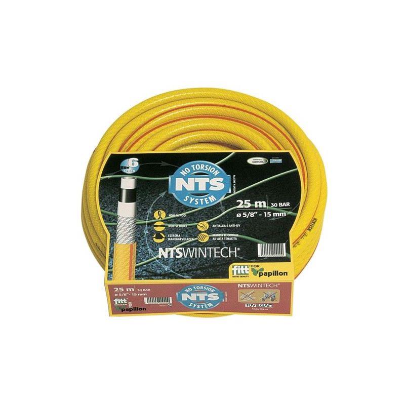 Tubo per innaffio irrigazione nts wintech 25 mt 5 8 for Tubo giardino 5 8