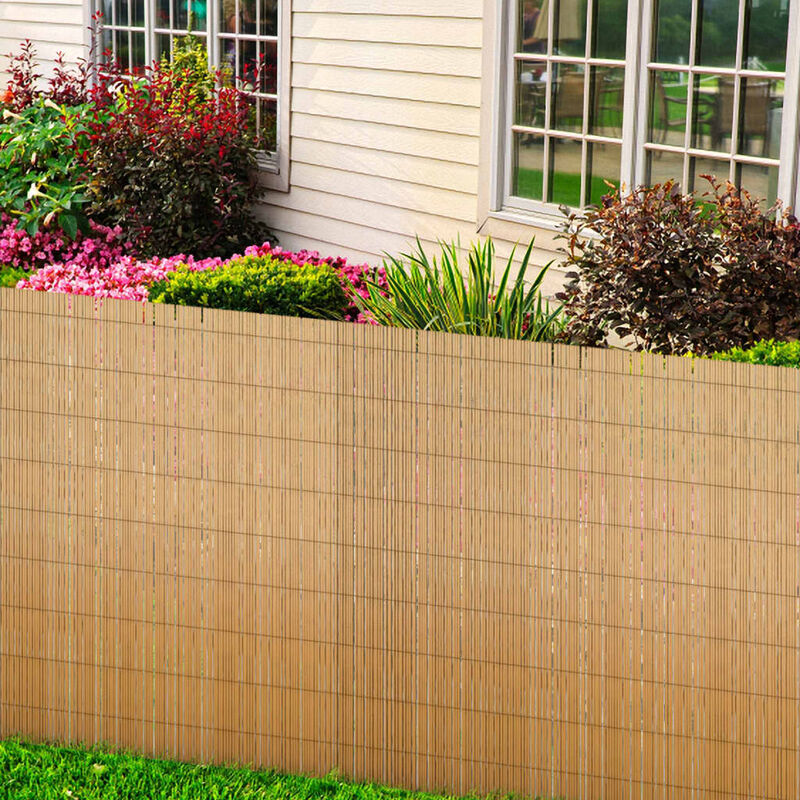 Valla de ca a para el jard n 500 x 200 cm jardines y - Vallas de jardin ...