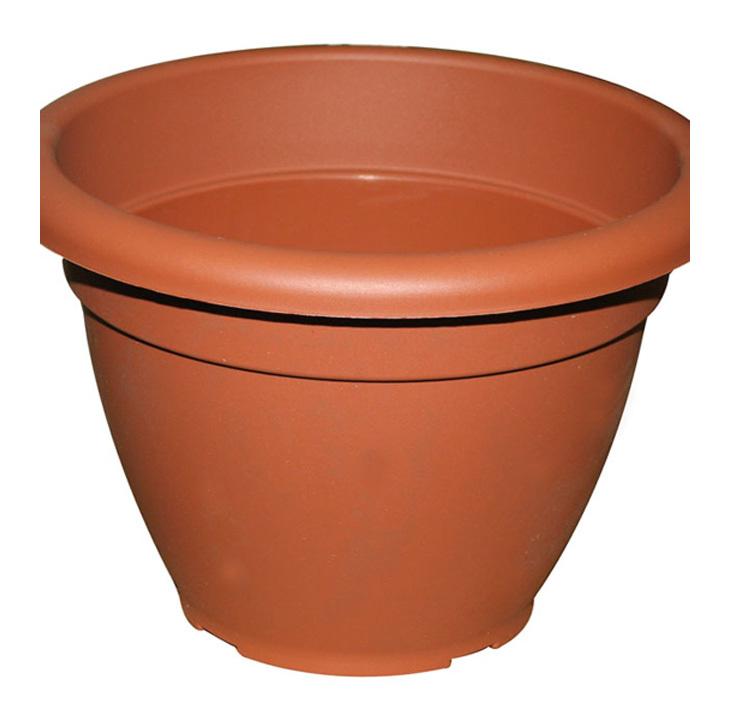 Vasi per piante e fiori in plastica colore terracotta cm H 31xD 45 10 Pz - 20...