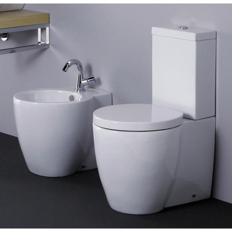 Vaso monoblocco e bidet full54 ful10054mb ful50054 copr cn idraulica sanitari riscaldamento - Riscaldamento bagno ...