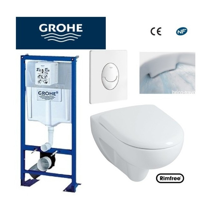 geberit ou grohe awesome wc suspendu oeuf wc suspendu grohe grohe toilette suspendu geberit. Black Bedroom Furniture Sets. Home Design Ideas